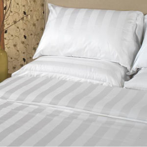 Hotel Bedding Linen Supplier in China Stripe Bedding Set pictures & photos