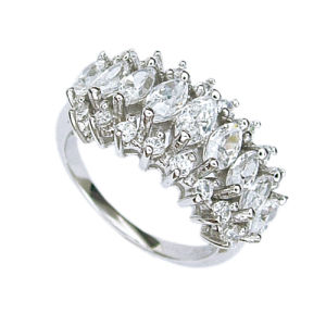 925 Silver Jewelry Ring (210855) Weight 4.38g