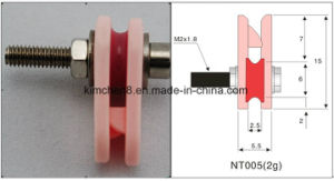 Textle Machinery Parts Ceramic Wire Guides Caged Ceramic Pulley (NT005) pictures & photos