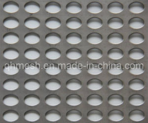 Stainless Steel Oval Hole Straight Perforated Metal/Manufacturer Competitive Price