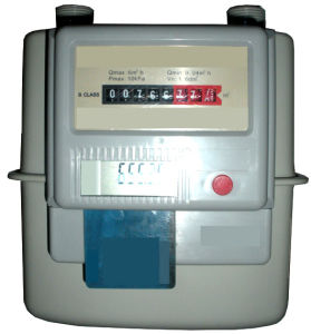 IC Card Prepaid Prepayment Gas Meter Wireless 2 pictures & photos