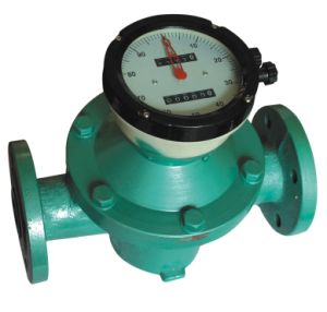 Mechanical Oval Gear Meter, Cast Iron, for Petrol, Gaosline, Diesel, Liquid pictures & photos