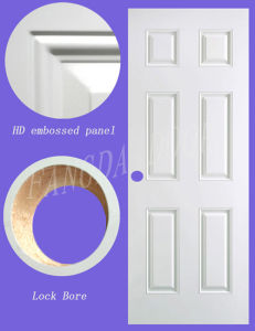 6 Panel Steel Door (FD-01) pictures & photos