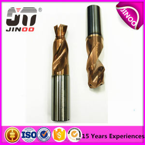 High Precision 2 Flute HRC45 Tungsten Solid Carbide Drill Bits pictures & photos