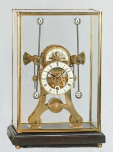 Bronze Mechanical Clock (S3054-3A) pictures & photos