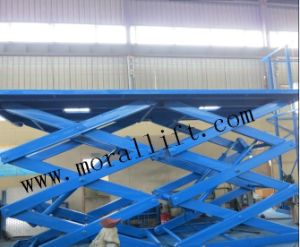 Heavy Load Stationary Scissor Lift pictures & photos