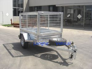 Toolbox Trailer with Mesh Box pictures & photos