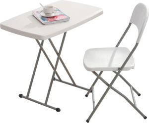 2.5FT Height Adjustable Folding Table (YCZ-76X-2) pictures & photos