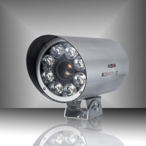 IR Waterproof Camera with Super HAD CCD and High Power Spotlight IR LED (AVS-108H)