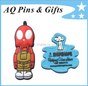 Professional Manufacturer 3D Logo Soft PVC Fridge Magnet (FM-05) pictures & photos