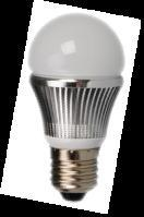 LED Bulb With 3W in Round