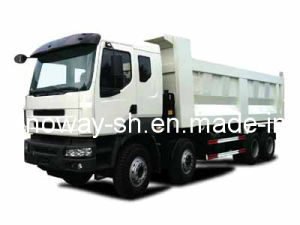Tipper Truck with Cummins Engine (SWDT37584DCF) pictures & photos