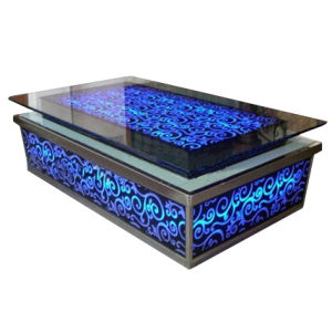 KTV Used Coffee Table with Toughened Glass (LH-B001) pictures & photos