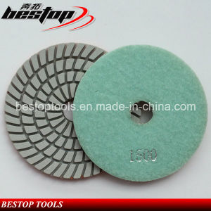 Diamond Flexible Dry Wet Polishing Pad for Granite and Marble pictures & photos