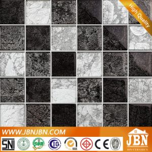 Golden Foil Crystal Glass Mosaic Tiles for Project (G855021) pictures & photos