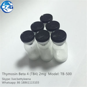 99% Peptides Bodybuilding Hormone Peptide Thymosin Beta4 Tb4 Tb 500 pictures & photos
