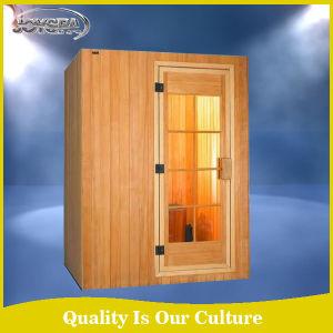 Hemlock Solid Wood Type and Sauna Room Type Sauna Room pictures & photos