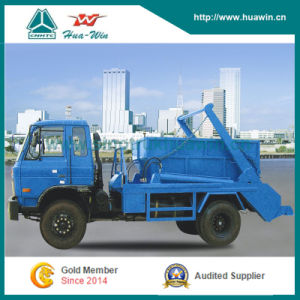 Cnhtc 10t Arm Roll Garbage Truck Rear Loader pictures & photos