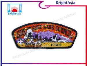 Flannelette Fashion Garment Accessories Embroidery Patch (BYH-10953)) pictures & photos
