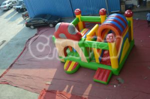 2015 Popular Mushroom House Inflatable Bouncer pictures & photos