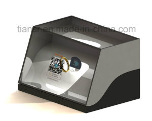 22 Inch Transparent Display Stand with The Counter Design pictures & photos