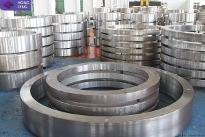 Hot Forging Stainless Steel Helical Gear Ring pictures & photos