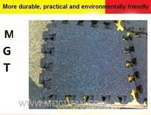 Interlocking Crossfit Gym Rubber Flooring