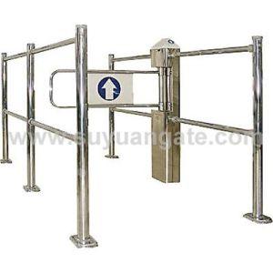 Supermarket Gate, Automatic Gate, Swing Gate, Sliding Gate, Turnstile, Entrance Gate, Security Gate for Supermarket pictures & photos