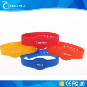 RFID Silicone Wristband RFID Em4200, Em4305, Tk4100, T5557; pictures & photos
