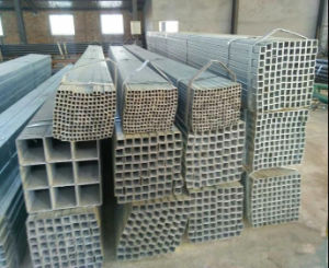 Building Material Q235 Pre Galvanized Square Tube/50X50mm Steel Tube pictures & photos