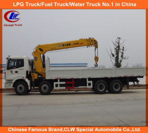 Foton 8X4t Truck with Crane Heavy Duty Truck Mounted Crane pictures & photos