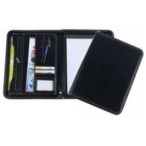 A4 PU Portfolio with Two Pen Holders