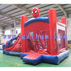 Entertainment Children′s Cartoon Inflatable Bounce House/Inflatable Cloth Jump Bed pictures & photos