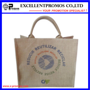 Eco-Friendly Logo Customized Promotional Jute Bag (EP-B581703) pictures & photos