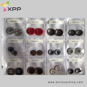 Metal Alloy 2h Sewing Button pictures & photos