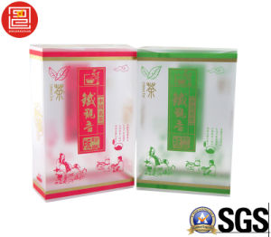 PP Plastic Box Offset Printing with Gold Stamping, Plastic PP Box for Tea, High-End Plstic Packaging Gift Box