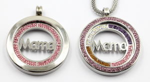 High Quality 316L Surgical Stainless Steel Locket Pendant with Mama Coin Inside pictures & photos