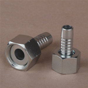 GB Metric Female Flat Seat Hose Fitting pictures & photos