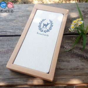 Fabric Hardcover Notebook with Box for Promotion Gift