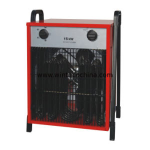 Industrial Space Fan Heater Portable Air Heater 15kw Square Shape pictures & photos