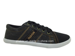 Classic Blank Canvas Sneaker Shoe for Men (J2295-M) pictures & photos