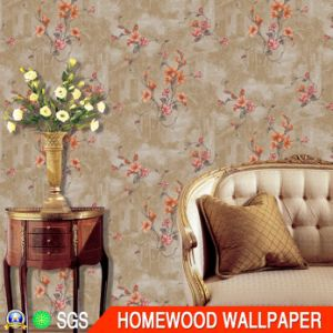 Italy Design Deep Embossed Vinyl Wall Paper (350g/sqm 53cm*10m)