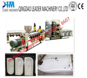 ABS PMMA Bathtub Sanitary Sheet/Board Extrusion Line pictures & photos