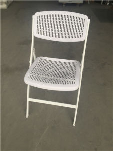 Pop. White Color Plastic Folding Chairs pictures & photos