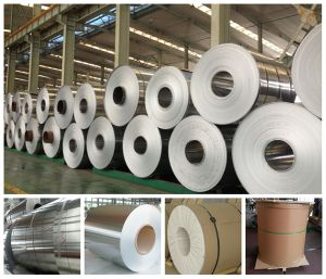 Alloy 5052 H32 Aluminum Coil for Electrical Machine Parts pictures & photos
