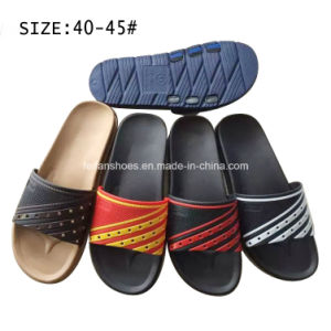 New Style Men′s EVA Slippers Beach Slippers (YF18022) pictures & photos