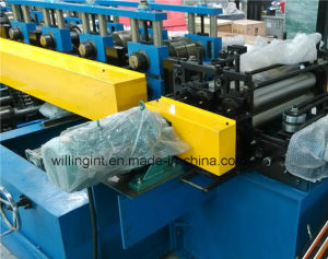 PLC Control Post Cutting Steel Cold Roll Forming Machine pictures & photos