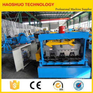 High Quality High Speed Floor Deck Steel Roll Form Machine pictures & photos