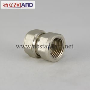 Female Straight Coupling Pex Pipe Fitting pictures & photos