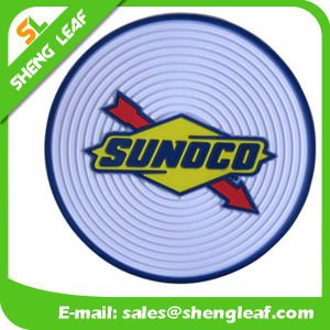 Householder Silicone PVC Coaster with Filling Colors for 3D Designed